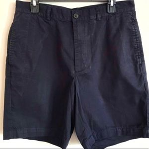 Brooks Brother's Men's 346 Navy Cotton Shorts